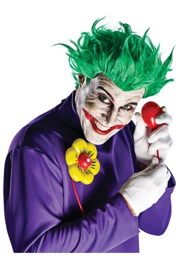 Peruca do Coringa Vilão Arkham City
