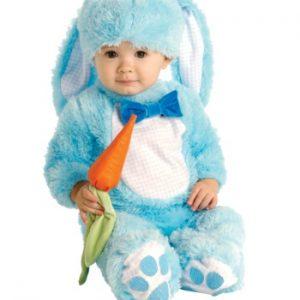 Fantasia para Bebê Coelhinho Azul BABY BLUE BUNNY COSTUME