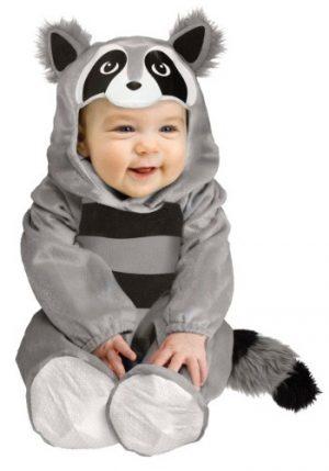 Fantasia para bebê Guaxinim BABY RACCOON COSTUME