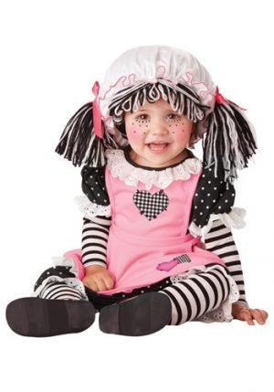 Fantasia para Bebê Boneca de Pano BABY RAG DOLL COSTUME