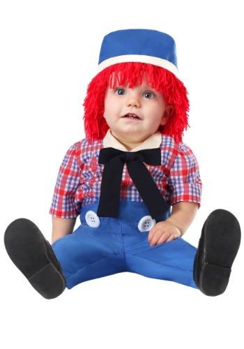 Fantasia Infantil Boneca de Pano para Menino RAG DOLL INFANT COSTUME