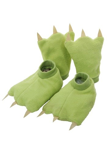 Kit de Acessórios Infantil Dinossauro CHILD DINOSAUR HANDS & FEET