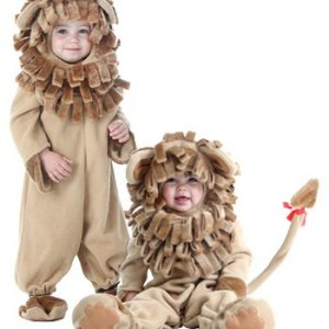 Fantasia Bebê / Infantil de Luxo Leão DELUXE TODDLER LION COSTUME
