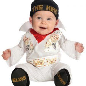 Fantasia Bebê Elvis ELVIS ONESIE COSTUME