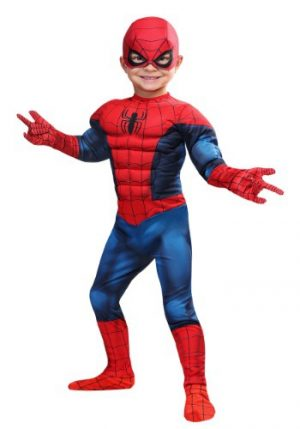 Fantasia Infantil Homem Aranha MARVEL SPIDER-MAN TODDLER COSTUME