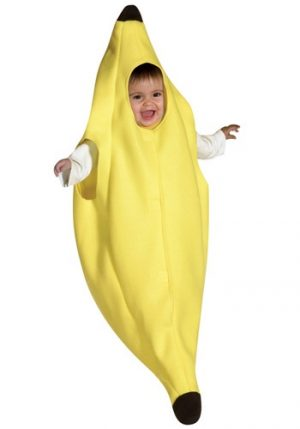 Fantasia para Bebê Banana TAMANHO 3 A 9 MESES BABY BANANA BUNTING COSTUME