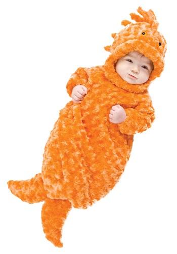 Fantasia para Bebê Recém Nasciso Peixinho Dourado TAMANHO DE 0 A 6 MESES  INFANT GOLDFISH BUNTING COSTUME
