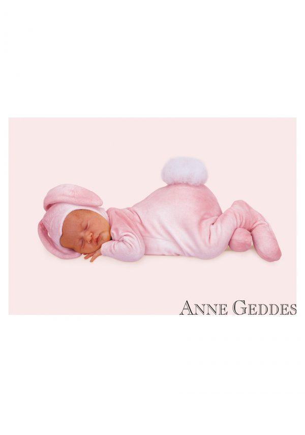 Fantasia para Bebê Coelhinho Rosa Anne Guedes INFANT ANNE GEDDES BUNNY COSTUME