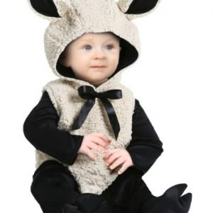 Fantasia para Bebê Cordeiro INFANT BABY LAMB COSTUME
