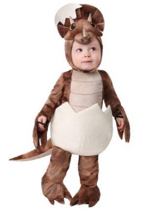 Fantasia Infantil Dinossauro Tricerátops INFANT TINY TRICERATOPS DINOSAUR COSTUME