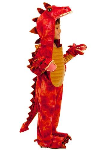 Fantasia Infantil Dragão Vermelho HYDRA RED DRAGON COSTUME