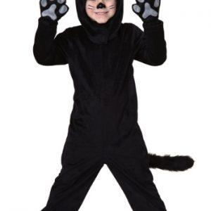 Fantasia Infantil Gato Preto TODDLER LITTLE BLACK CAT COSTUME