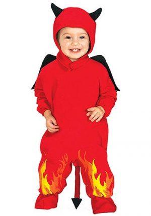 Fantasia Bebê Infantil Diabinho LIL DEVIL BABY COSTUME