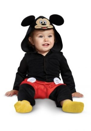Fantasia para Bebê Macacão Mickey Mouse DISNEY MICKEY MOUSE INFANT JUMPSUIT COSTUME