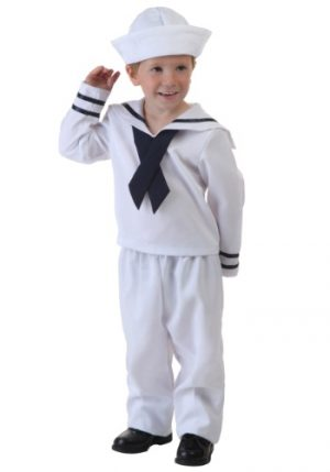 Fantasia Infantil Marinheiro TODDLER SAILOR COSTUME