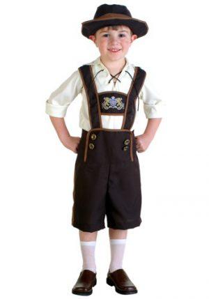 Fantasia Infantil Escoteiro Masculino TODDLER LEDERHOSEN BOY COSTUME