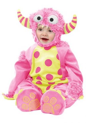 Fantasia para Bebê Monstro Rosa INFANT PINK MINI MONSTER COSTUME