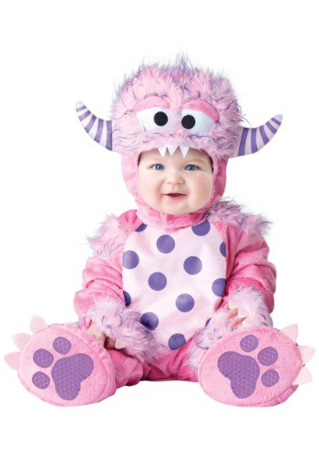 Fantasia Bebê/Infantil Monstro Rosa INFANT/TODDLER LIL PINK MONSTER COSTUME