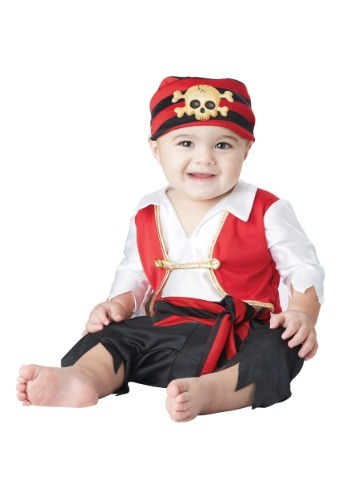 Fantasia para Bebê Pequeno Pirata PEE WEE PIRATE INFANT COSTUME