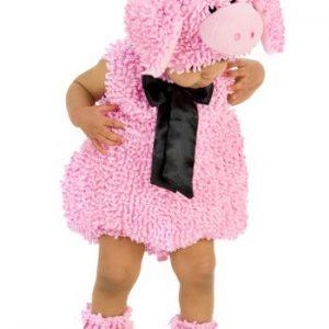 Fantasia Infantil Porco Rosa SQUIGGLY PIG COSTUME