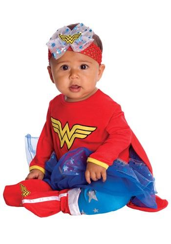 Fantasia para Bebê Mulher Maravilha INFANT WONDER WOMAN ROMPER COSTUME