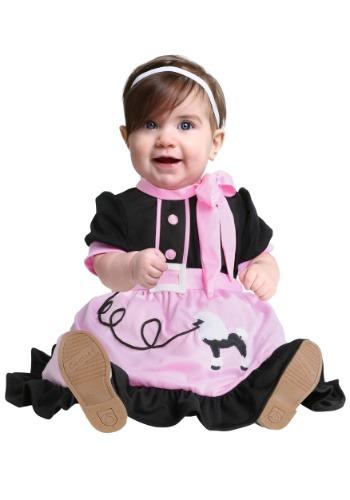Fantasia para Bebê Anos 50 50S POODLE SKIRT INFANT COSTUME