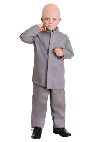 Fantasia Infantil Traje Cinza TODDLER GRAY SUIT COSTUME