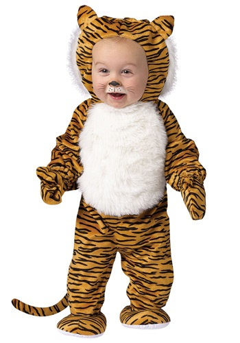 Fantasia Infantil Tigre Peluches TODDLER CUDDLY TIGER COSTUME