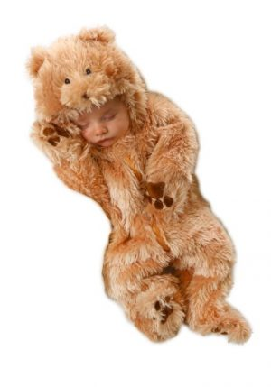 Fantasia para Bebê Urso Plush CUDDLY BEAR INFANT COSTUME