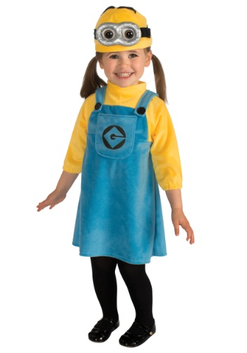 Fantasia Infantil Feminina Minions TODDLER GIRLS MINION COSTUME