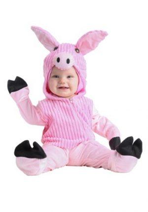 Fantasia para Bebê Porquinho Rosa FATO INFANTIL BABY PIG