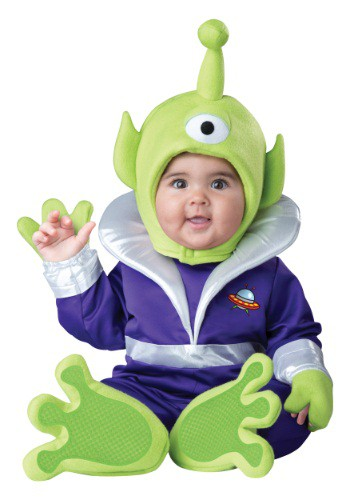 Fantasia para Bebê Marciano INFANT/TODDLER MINI MARTIAN COSTUME