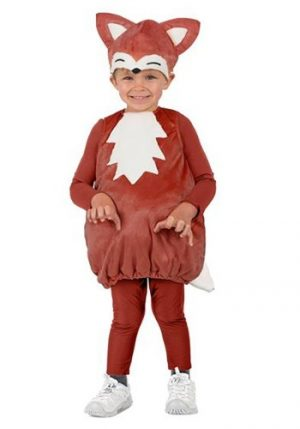 Fantasia Bebê Infantil Freddy a Raposa FREDDY THE FOX COSTUME FOR TODDLERS