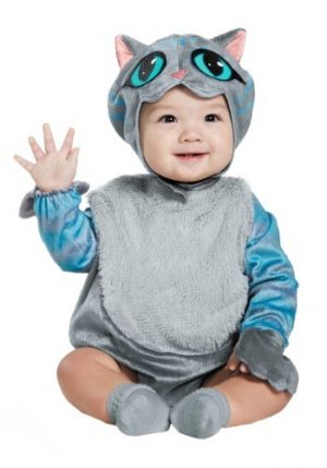 Fantasia Infantil bebê Gato de Cheshire CAT INFANT COSTUME