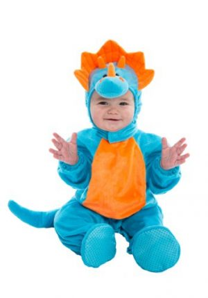 Fantasia para Bebê Dinossauro Azul e Laranja INFANT BLUE AND ORANGE DINO