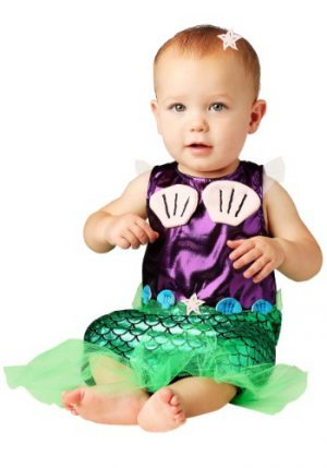 Fantasia Bebê Sereia INFANT MERMAID COSTUME