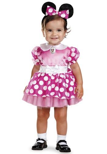 Fantasia Bebê Infantil Minnie Mouse Rosa INFANT PINK MINNIE MOUSE COSTUME