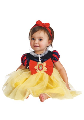 Fantasia para Bebê Branca de Neve INFANT SNOW WHITE MY FIRST DISNEY COSTUME