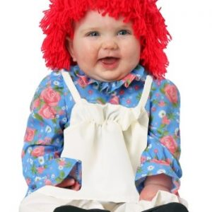 Fantasia para Bebê Boneca de Pano INFANTS GIRL RAG DOLL COSTUME