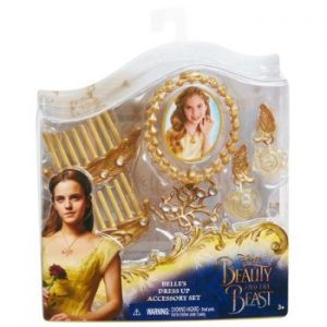 Kit de Acessórios Bela e a Fera KIDS BEAUTY & THE BEAST BELLE'S DRESS UP ACCESSORY SET