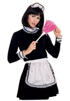 Kit de Acessórios Empregada Francesa Avental Peça de cabeça Gargantilha Algemas FRENCH MAID ACCESSORY KIT