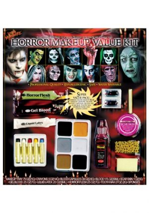 Kit de Maquiagem de Horror HORROR MAKEUP VALUE KIT
