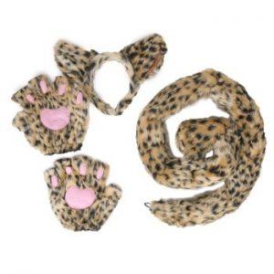 Kit de Acessórios Leopardo DELUXE LEOPARD KIT Tam Padrão