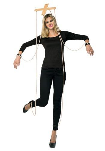 Kit de Acessórios Marionete Arco de cabelo + 2 peças transversais de plástico com cordões e algemas MARIONETTE KIT