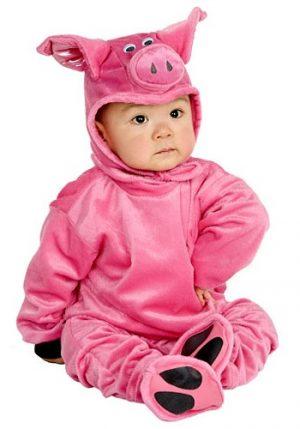 Fantasia Bebê Infantil Pequeno Porquinho LITTLE PIG COSTUME