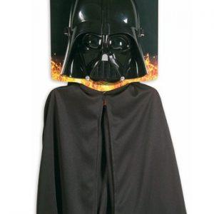 Kit de Acessórios para Crianças Darth Vader KIDS DARTH VADER MASK AND CAPE