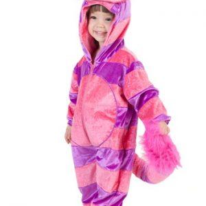 Fantasia para Bebê/Infantil Gato TODDLER CHESHIRE CAT COSTUME JUMPSUIT