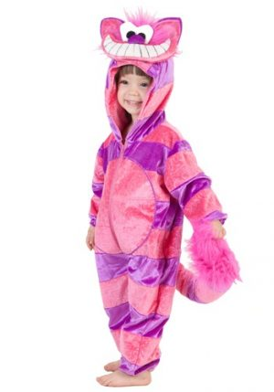Fantasia para Bebê/Infantil Gato TODDLER CHESHIRE CAT COSTUME JUMPSUIT