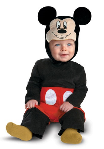 Fantasia para Bebê Mickey Mouse INFANT MICKEY MOUSE MY FIRST DISNEY COSTUME