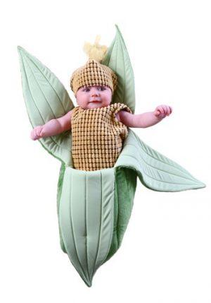Fantasia para Bebê Recém Nascido Espiga de Milho NEWBORN EAR OF CORN BUNTING COSTUME